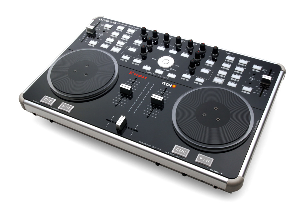 The Vestax VCI-300 DJ controller