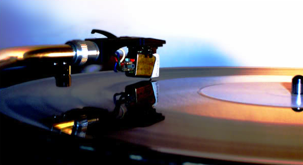 Technics turntables off into the sunset