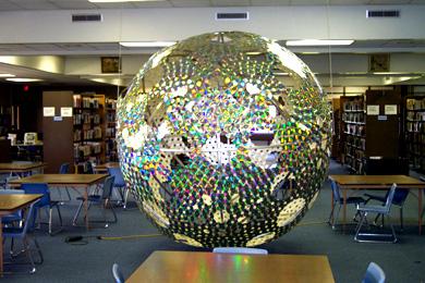 CD mirrorball