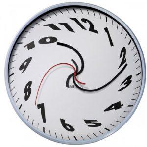 Confusing clock