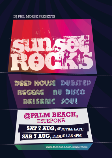 Sunset Rocks poster