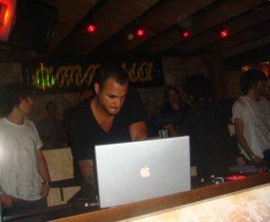 Amnesia DJ booth