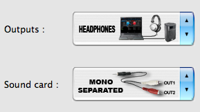 Setting up Virtual DJ to work with a mono separated signal, avoiding using a soundcard at all.