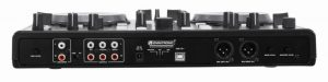 The TMC-2 features balanced XLR outputs and a LINE in