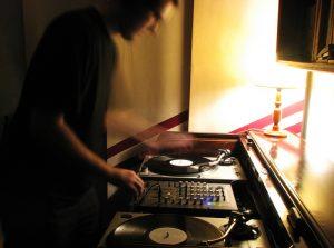 DJing with vinyl