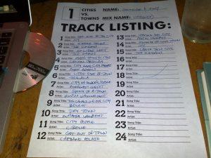 Tracklisting