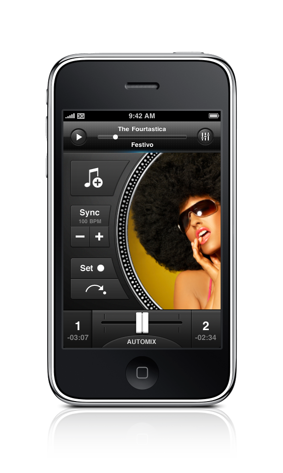 djay Remote - for DJing when you're on the dancefloor.