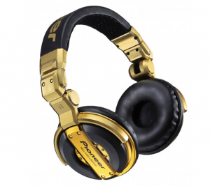 Pioneer HDJ1000 Gold Headphones