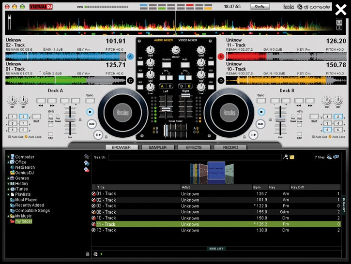 Virtual DJ 7 LE