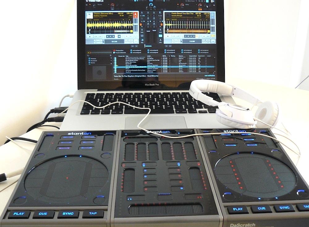 STANTON SC SYSTEM 3 USB TOUCHSTRIP DJ CONTROLLER