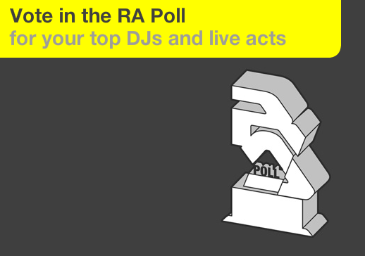 Resident Advisor Top 100 DJs & Acts 2010