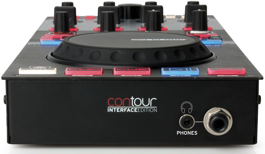 A modern single-jogwheel digital DJ interface can output up to 4 independent decks straight into your mixer - a highly flexible set-up.