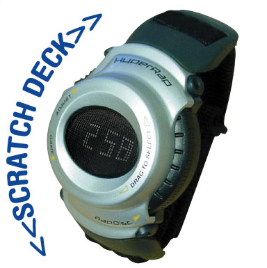 Hyperrap DJ Scratch Watch