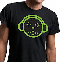Emoticon battery powered shirt