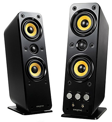 Creative GigaWorks T40 series II DJ speakers