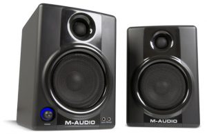 M-Audio Studiophile AV 40 DJ speakers