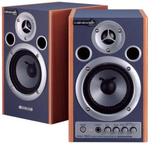 Cakewalk MA15D DJ speakers