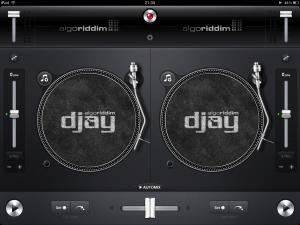 djay for iPad on loading