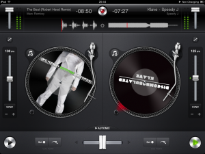djay for ipad review - cueing