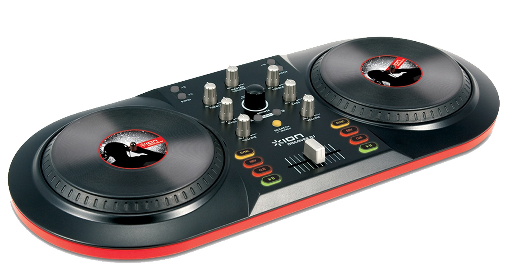 The ION Audio iCUE 3 controller is great fun for learning the basics of DJing.