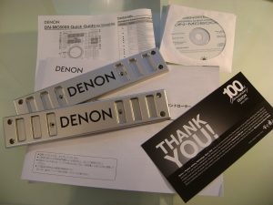 Denon DN-MC6000 in the box