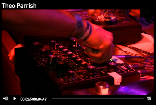 Theo Parrish Video