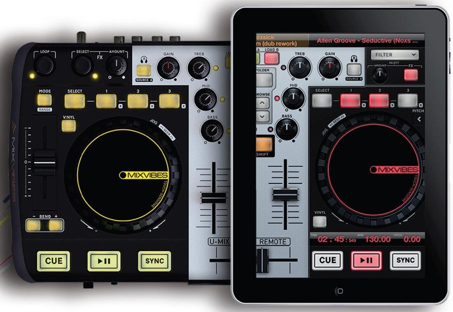 MixVibes U-Mix Control Pro & U-Mix Remote