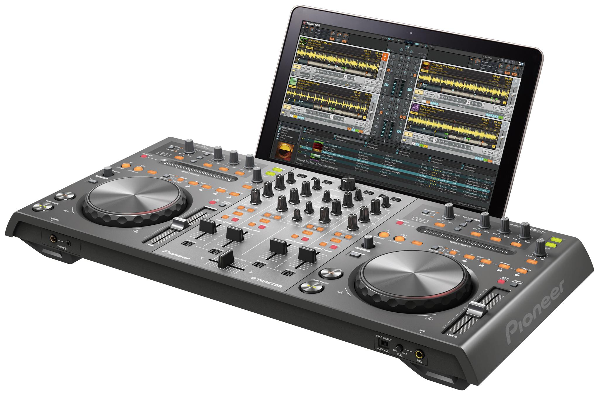 Digital dj decks