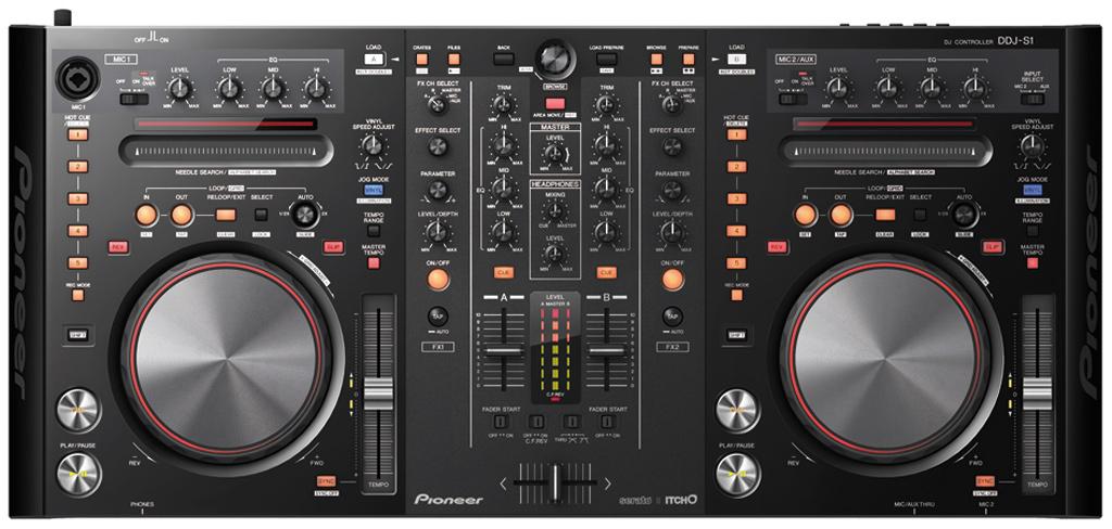 Pioneer DDJ-S1 Serato ITCH DJ controller