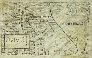 Rave map