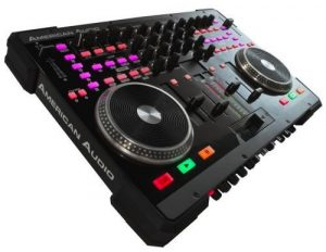 American Audio VMS4 four-channel DJ controller