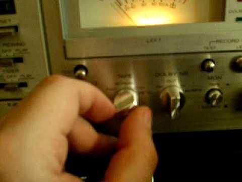 Cassette deck mixing