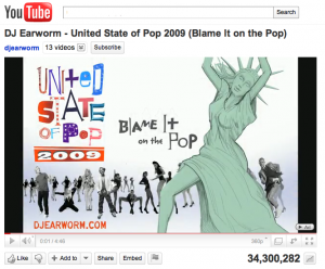 United State of Pop 2009