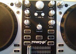 Gemini FIRSTMIX controls