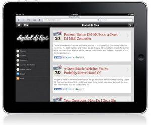iPad Digital DJ Tips