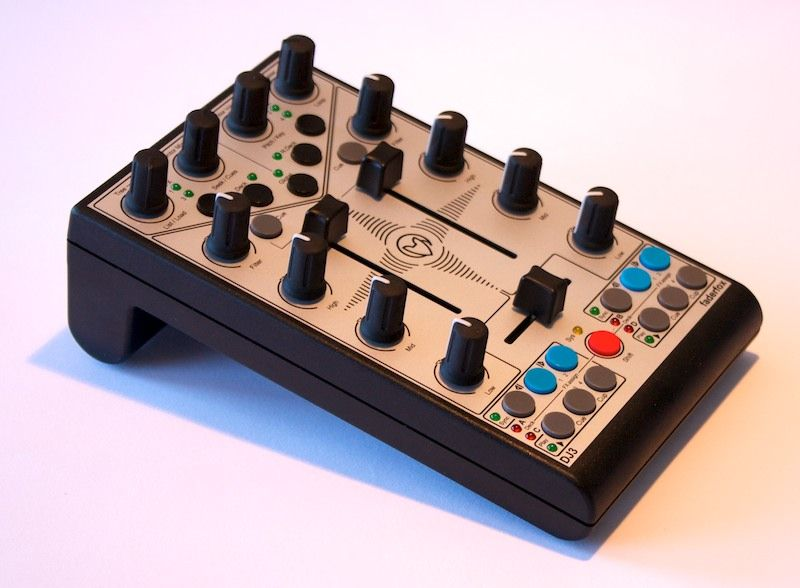 The Faderfox Micromodul DJ3 Traktor gives you full four-deck control in a package half the size of a paperback book.