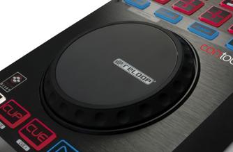 Modern DJ jogwheel