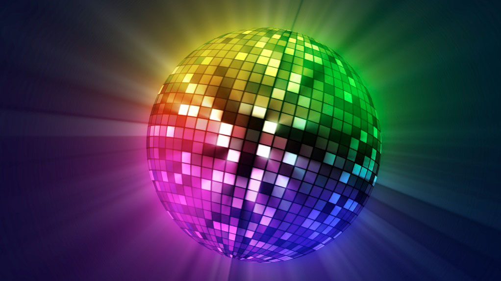 A mirrorball is enough to turn a living room into a dancefloor, at least for one night.