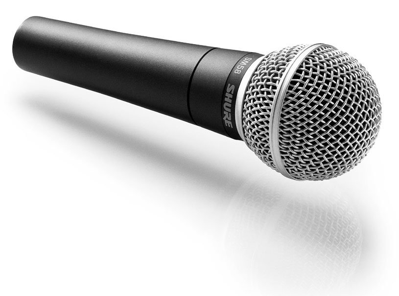 Shure SM58 - the industry standard vocal microphone for generations.