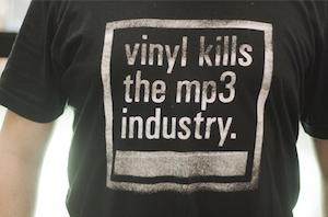 Vinyl kills the MP3