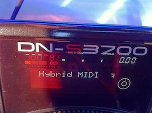 Denon DN-SC3700 hybrid mode