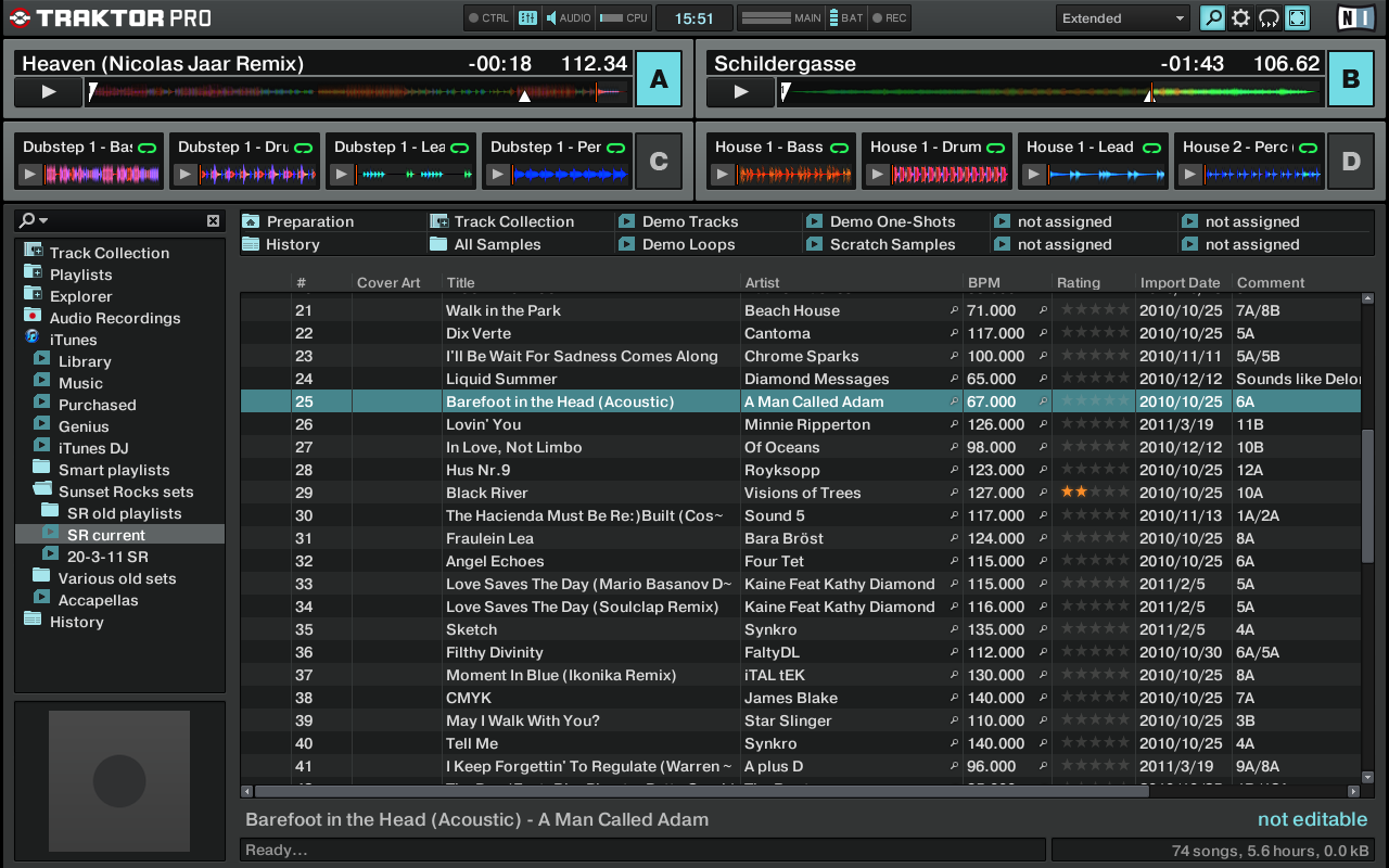 Traktor Pro 2's Browser Mode