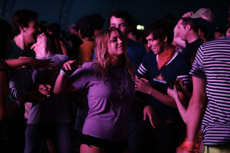 DJ and crowd