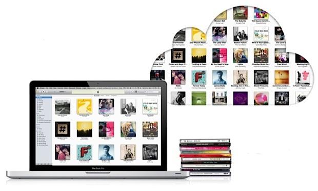 music in icloud
