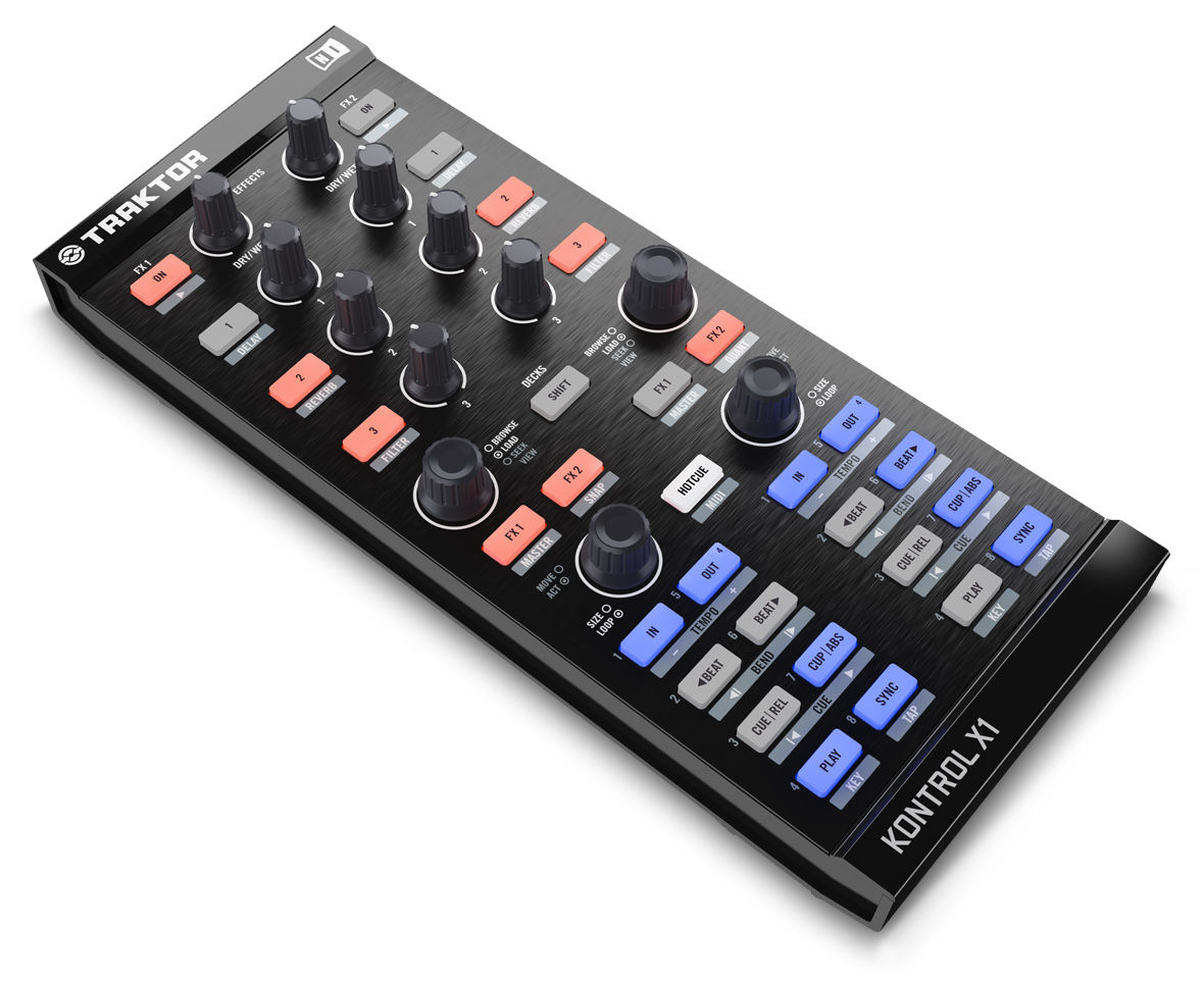 The Traktor Kontrol X1: how does it match up to the Denon DN-SC2000?