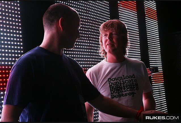 Sasha & Digweed DJing partnerships