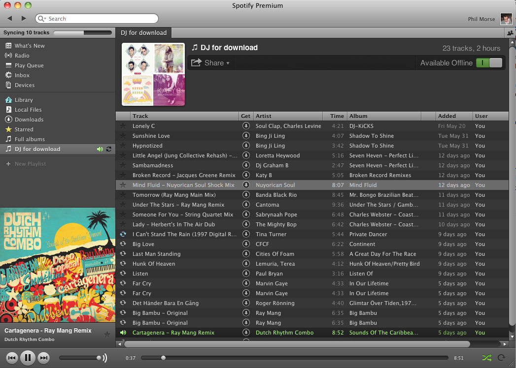 how to find your library on spotify