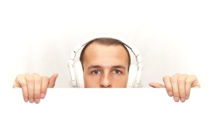 DJ hiding