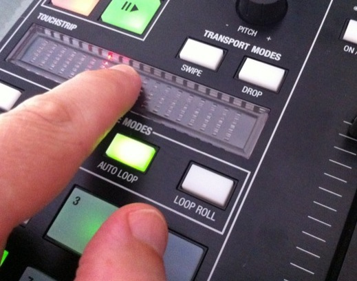 Novation Twitch Review touchstrips