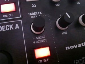 Novation Twitch Review Fader FX